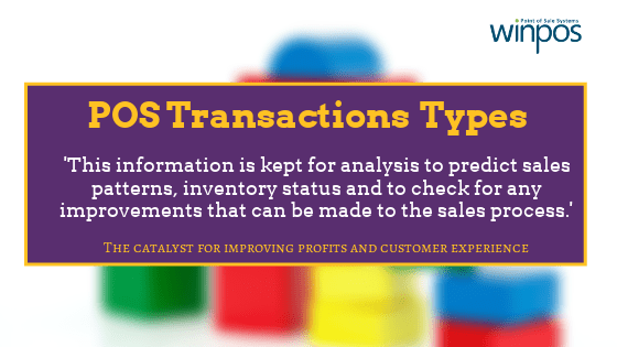 pos transaction types