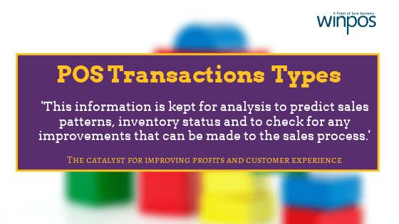 pos transaction types