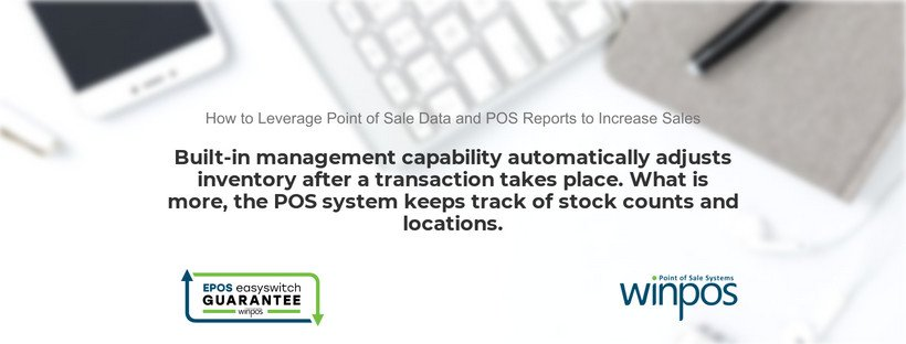 automatically track inventory using pos data