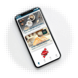 Picture of consumer app for quick service restaurant industry