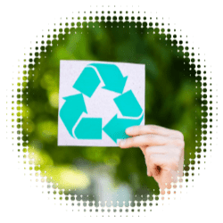 recycle symbol to represent quick service restaurants need to embrace sustainability.